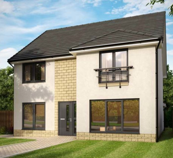 Dovecot Grange, Haddington EH41 4HA by Robertson Homes - Plot 52 Cedar