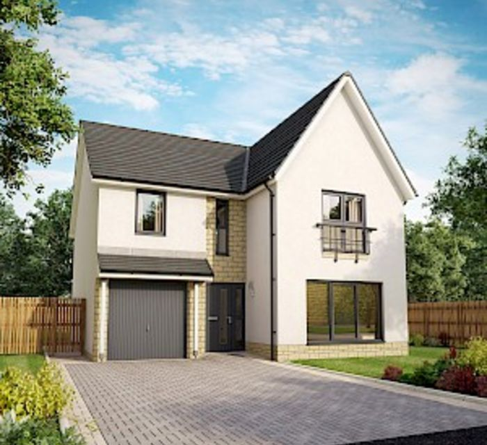Dovecot Grange, Haddington EH41 4HA, by Robertson Homes Plot 68 Willow GR