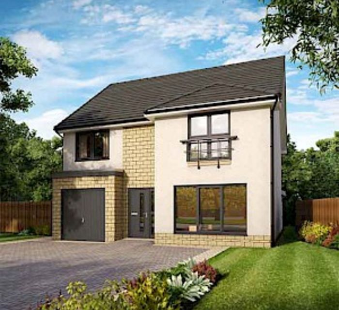 Fair Acres, Dunbar EH42 1ZN, by Robertson Homes Plot 86 Ivory Grand